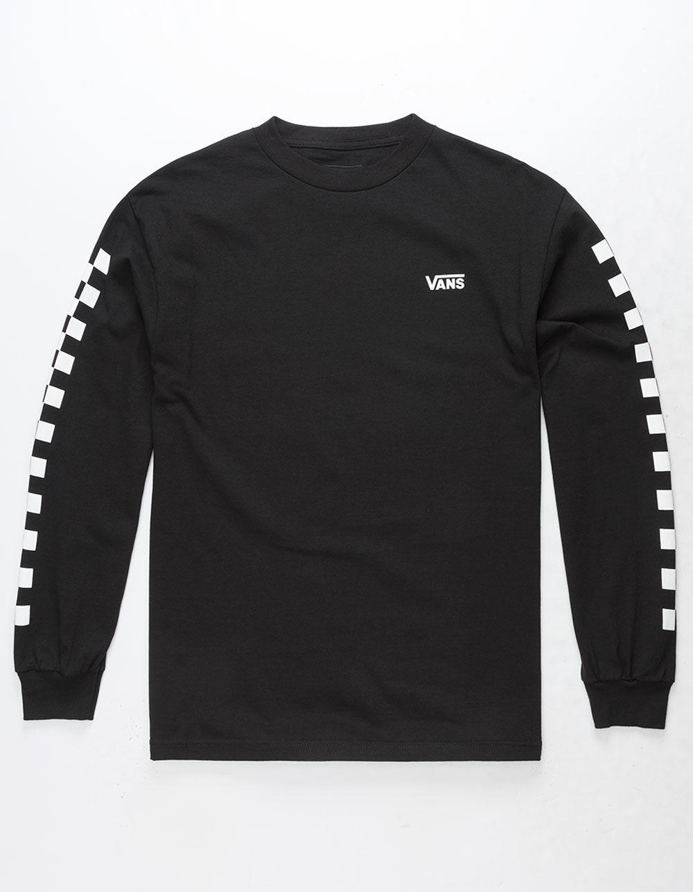 a9755b246b2 Vans X Tillys Sidestripe Checkerboard Mens T-shirt in Black for Men ...