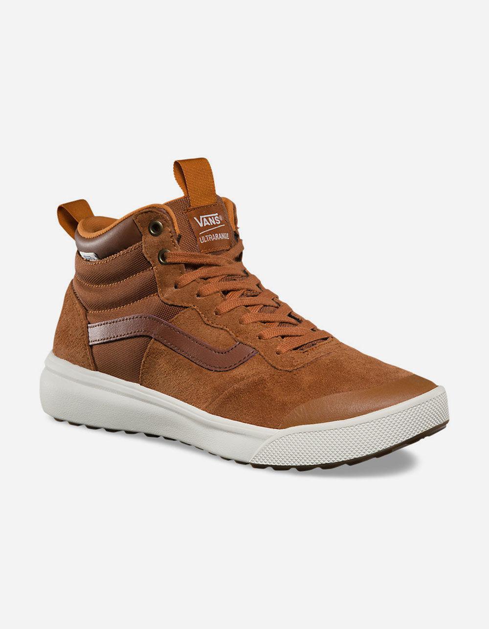 a0154b07e7 Lyst - Vans Ultrarange Hi Mte Mens Shoes in Brown for Men