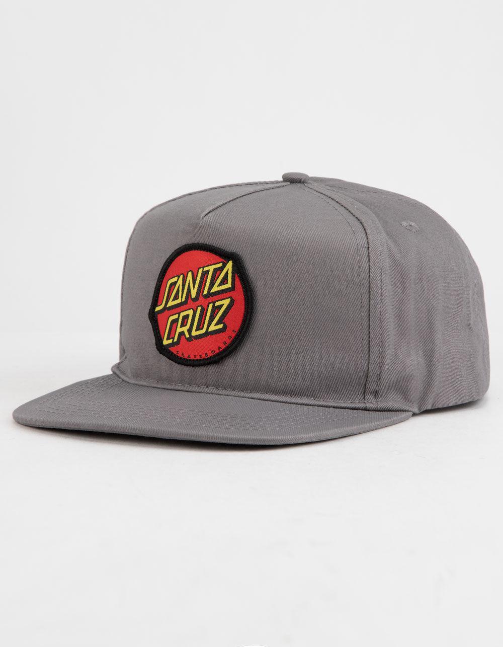 4c9ccd9ed89 Lyst - Santa Cruz Classic Gray Mens Snapback Hat in Gray for Men