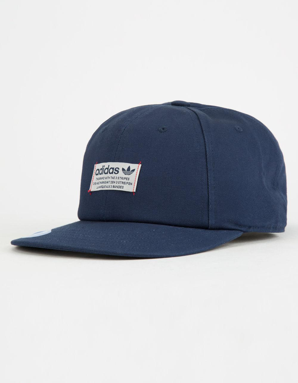be11d7ecca2 ... Adidas - Blue Originals Relaxed Base Mens Strapback Hat for Men - Lyst.