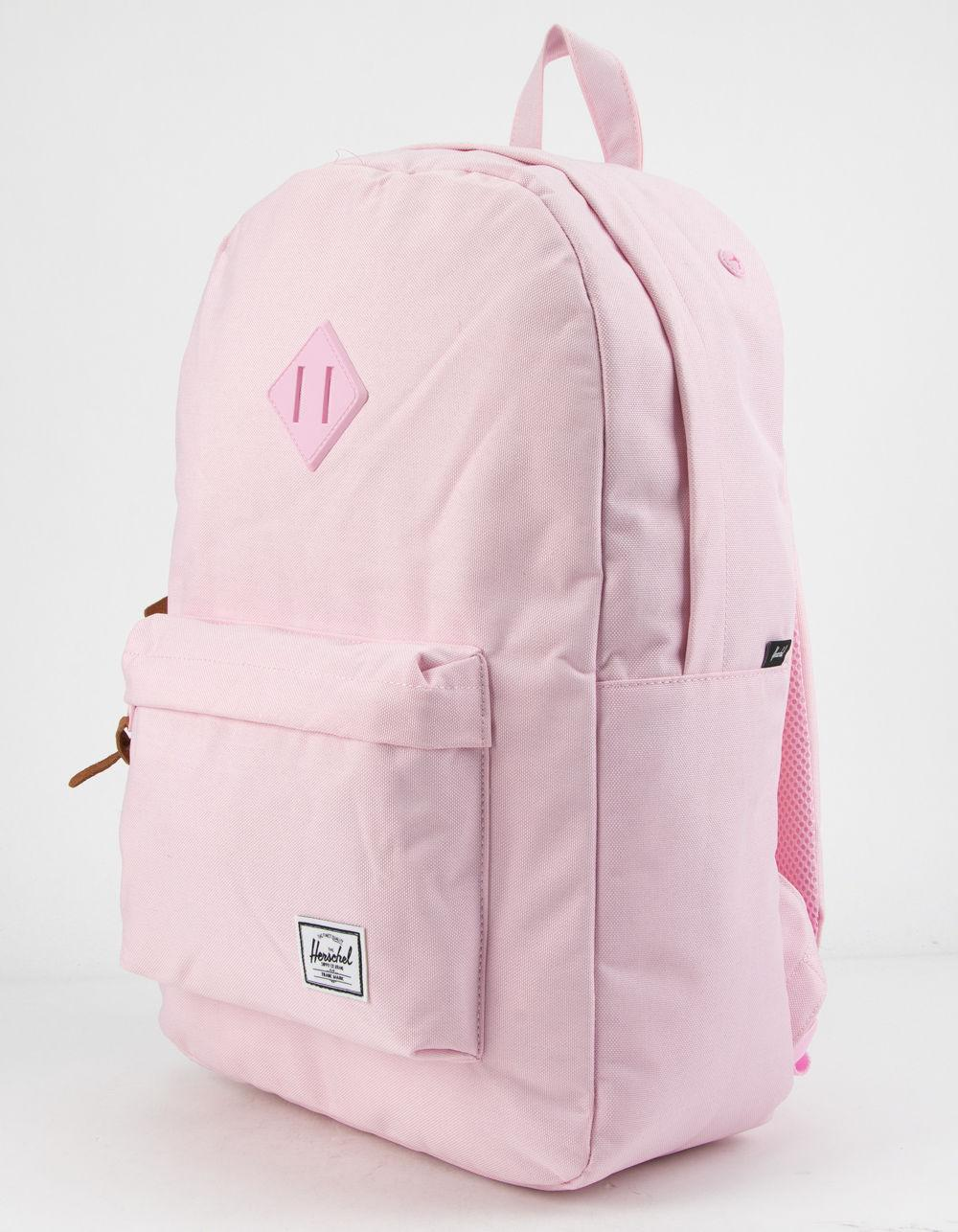 914fd4bc0922 Lyst - Herschel Supply Co. . Heritage Pink Lady Crosshatch Backpack in Pink