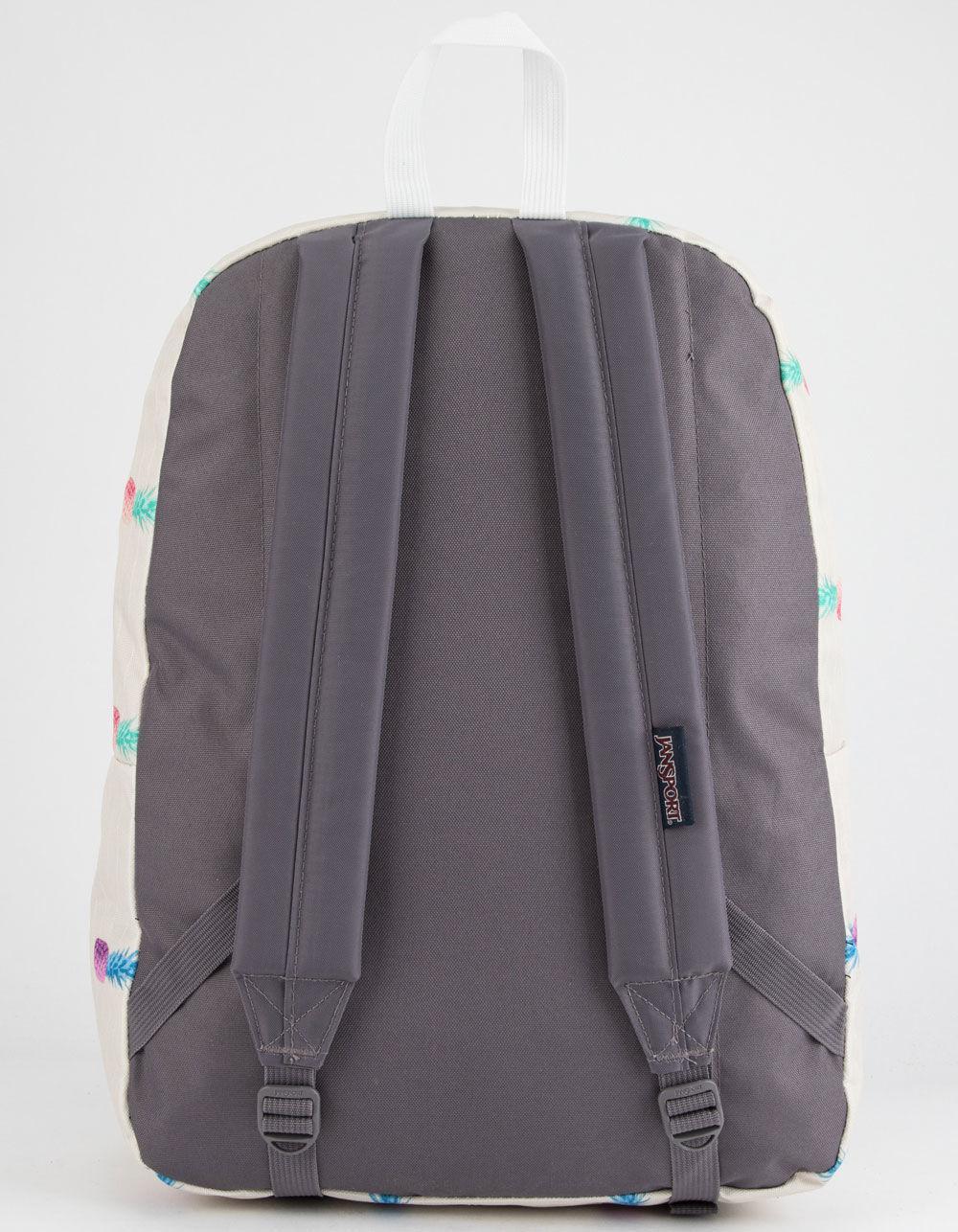 a94ce264ccf Lyst - Jansport Superbreak Pineapple Punch Backpack in Natural