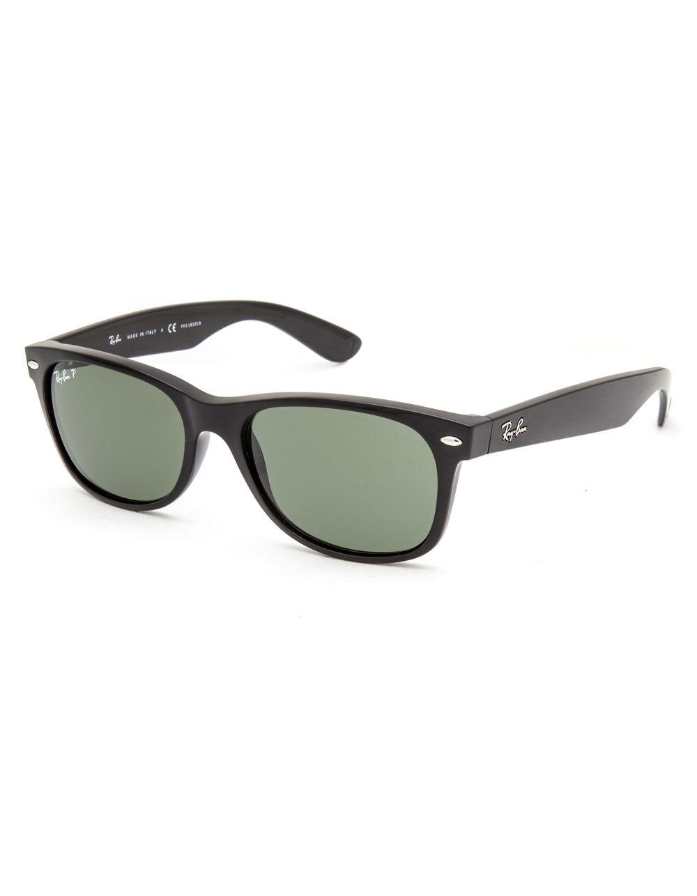 cf0a1162a6f Lyst - Ray-Ban New Wayfarer Polarized Sunglasses in Black for Men