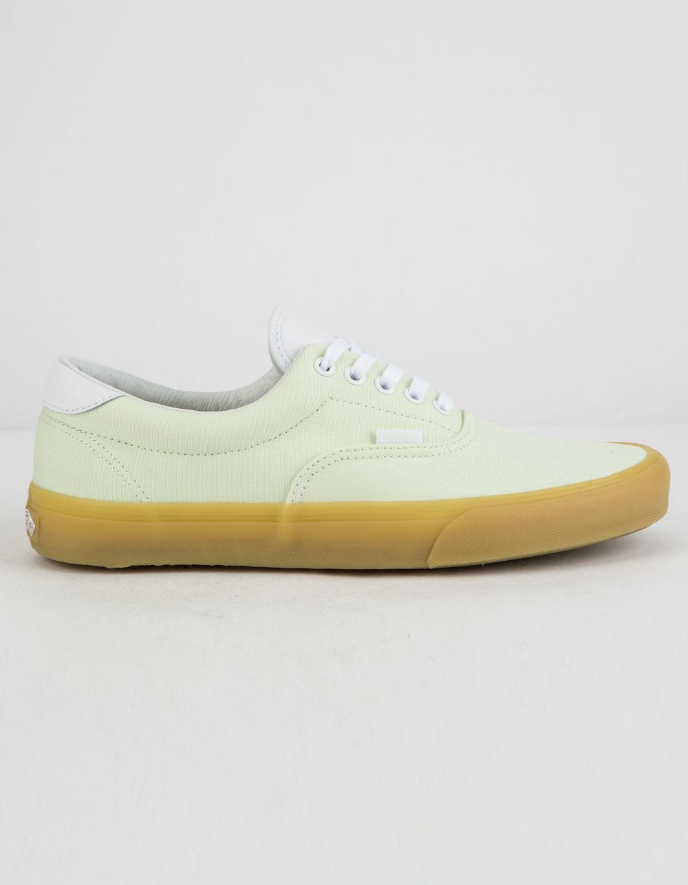Lyst - Vans Double Light Gum Era 59 Shoes in Green for Men d5fd3344ec