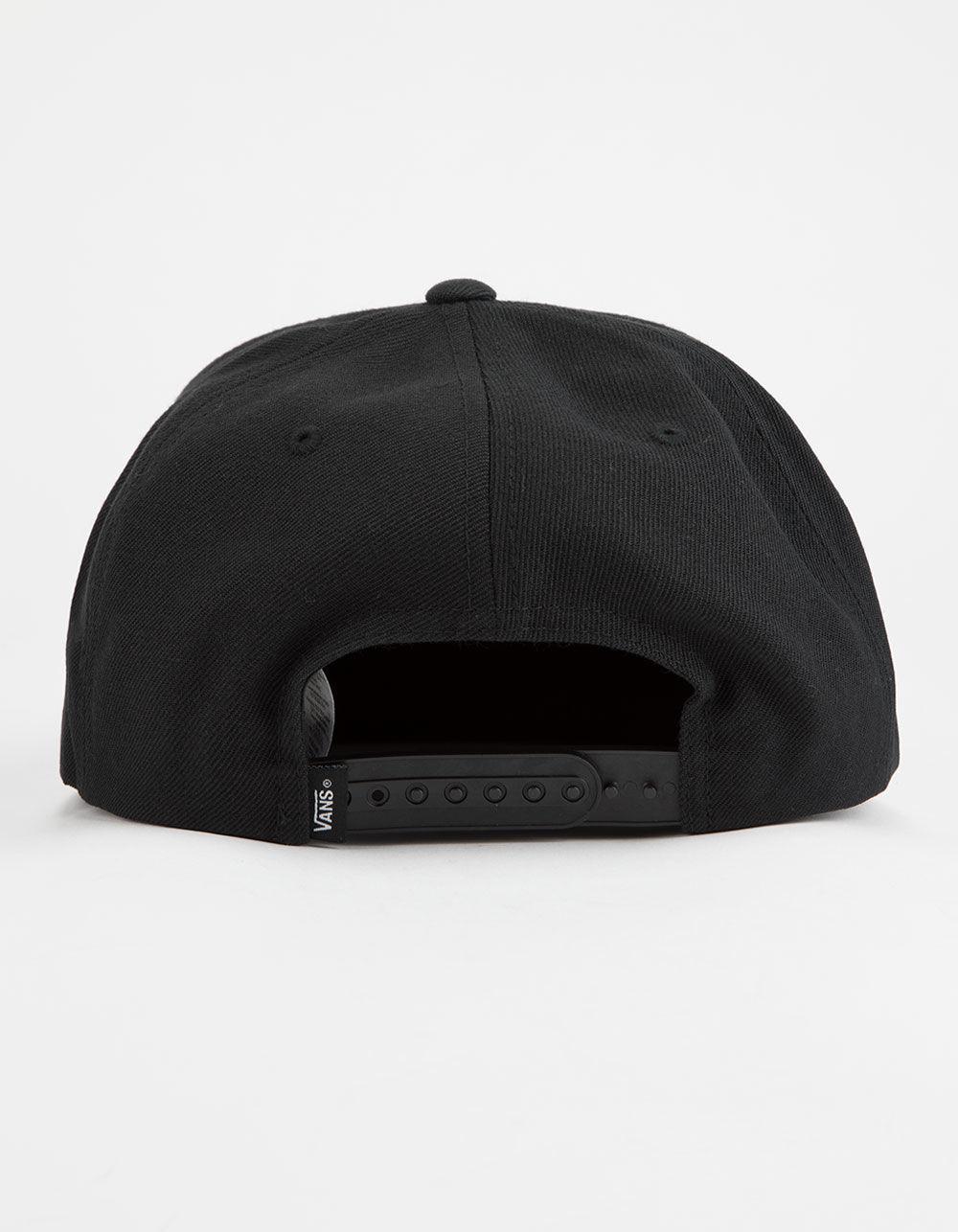 1c82da3efdad Lyst - Vans Drop V Ii Black Mens Snapback Hat in Black for Men - Save 70%