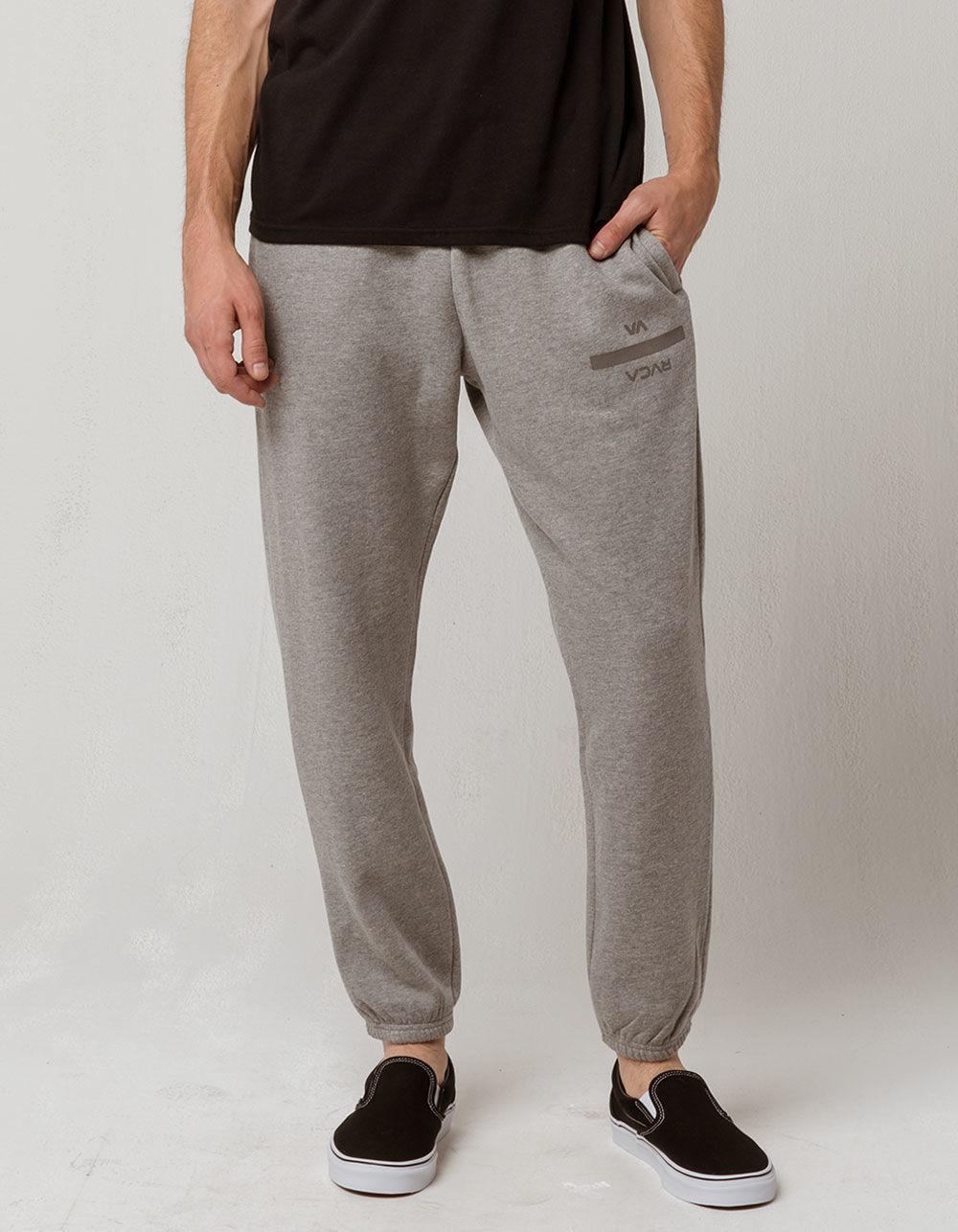 4c13a93d59dd Lyst - RVCA Barnone Mens Sweatpants in Gray for Men