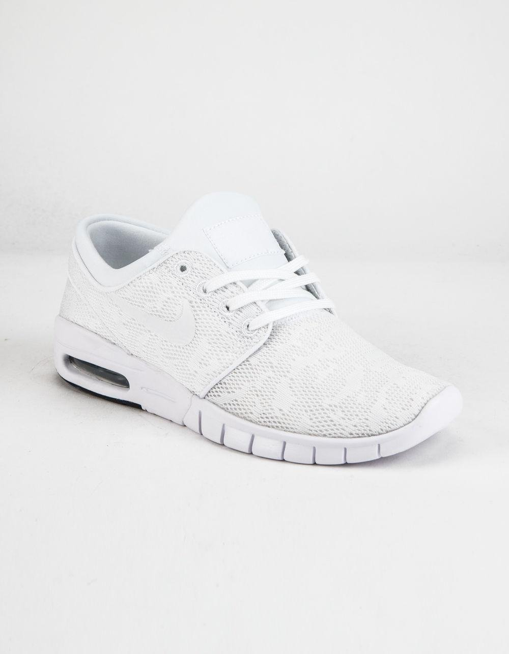 6a1dd06c9ff4 Lyst - Nike Sb Stefan Janoski Max Shoes in White for Men - Save 4%