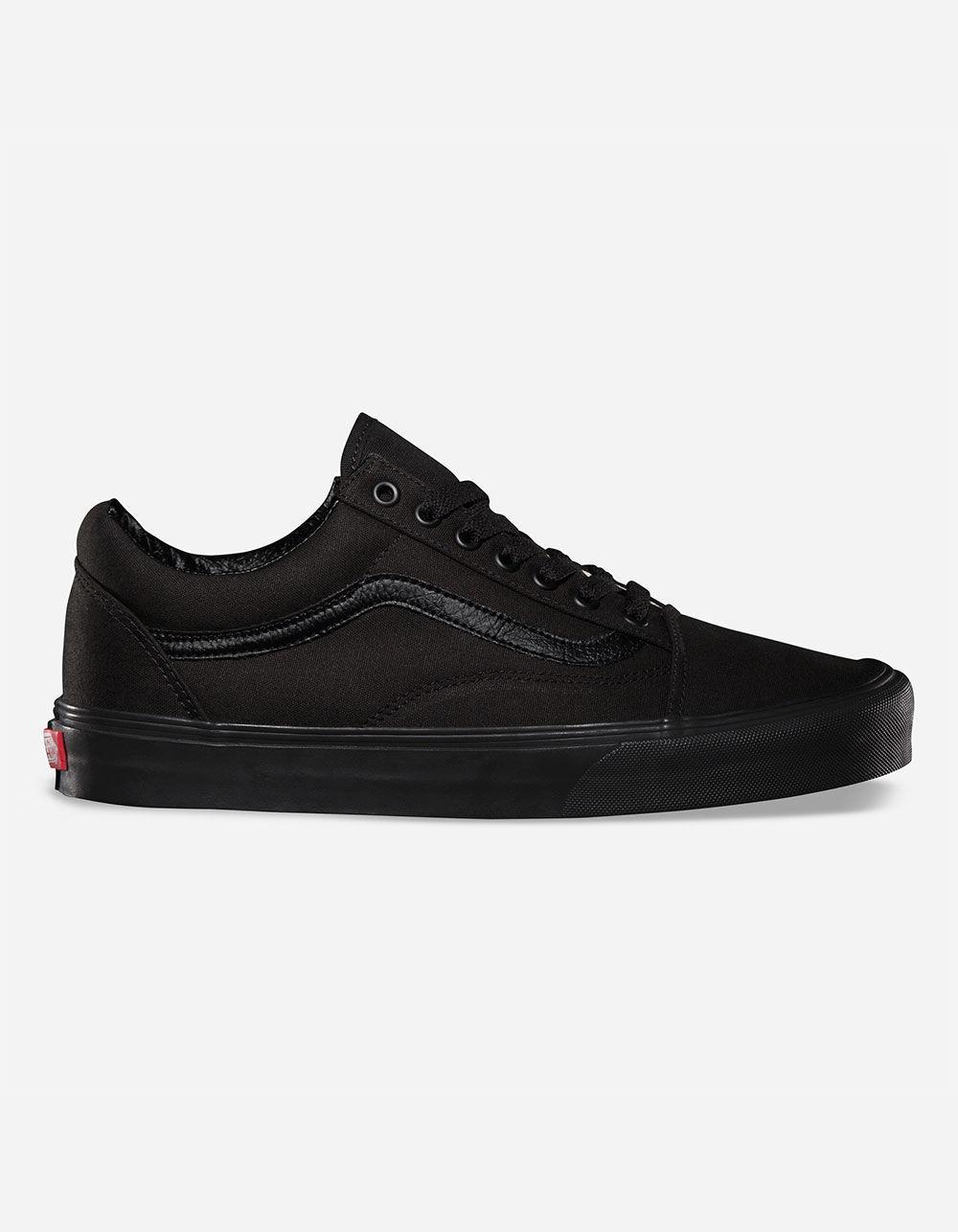 2542cfaaf8 Lyst - Vans Old Skool Black   Black Shoes in Black for Men