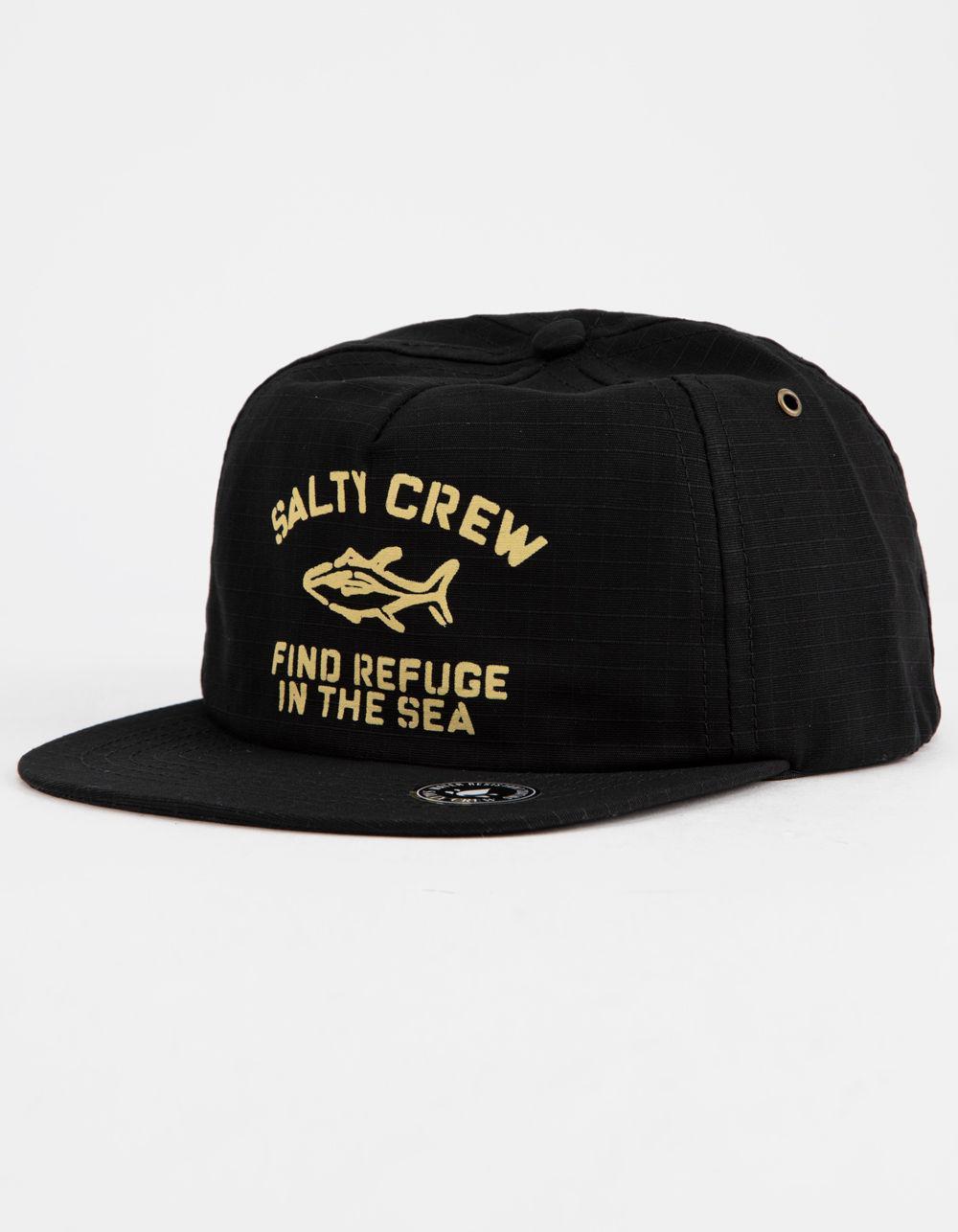 f04cdedefbc02 Lyst - Salty Crew Vandal Mens Strapback Hat in Black for Men