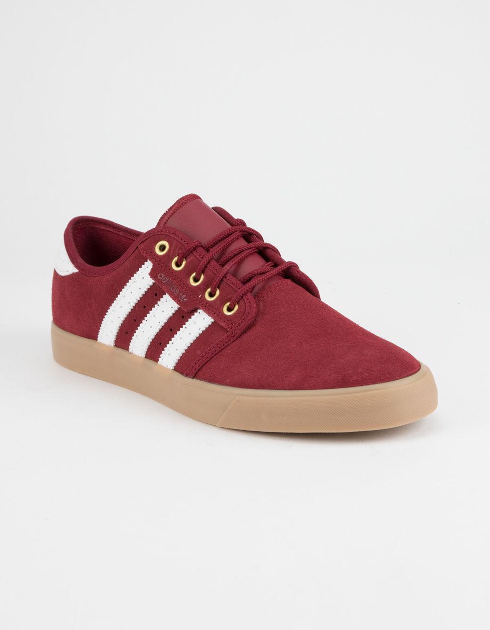 Lyst Adidas Rosso Seeley Borgogna & Gum Uomo Scarpe In Rosso Adidas Per Gli Uomini. 78e60d