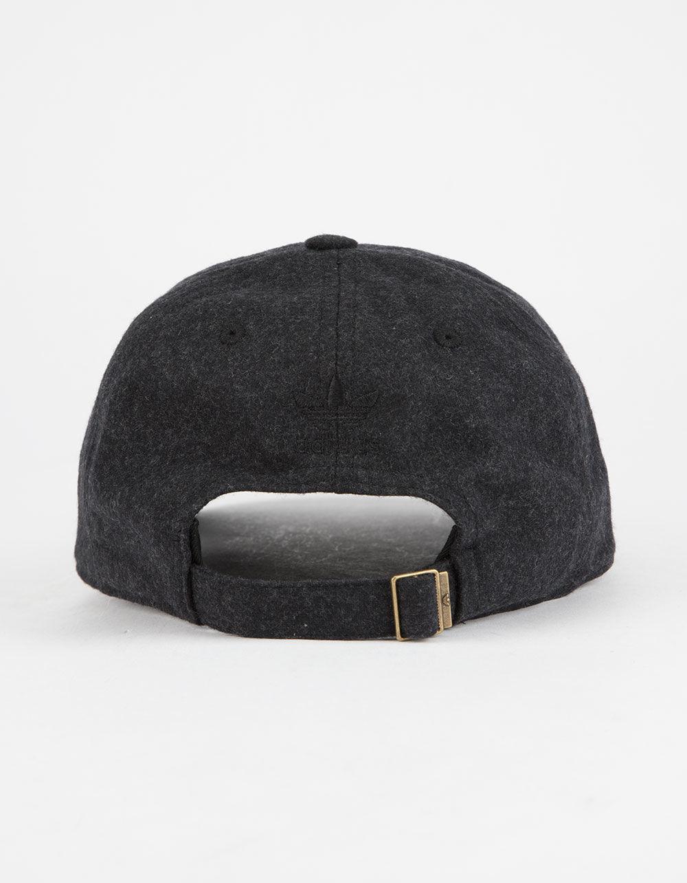 size 40 dae4d 7bb22 View Fullscreen Adidas Originals Black Originals Relaxed Plus Mens  Strapback Hat for Men Lyst. View Fullscreen adidas Originals Womens ...