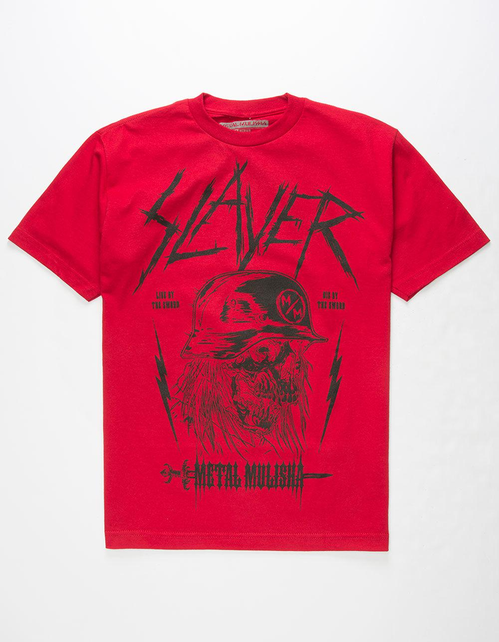 610059c06150ae Lyst - Metal Mulisha X Slayer By The Sword Mens T-Shirt in Red for Men