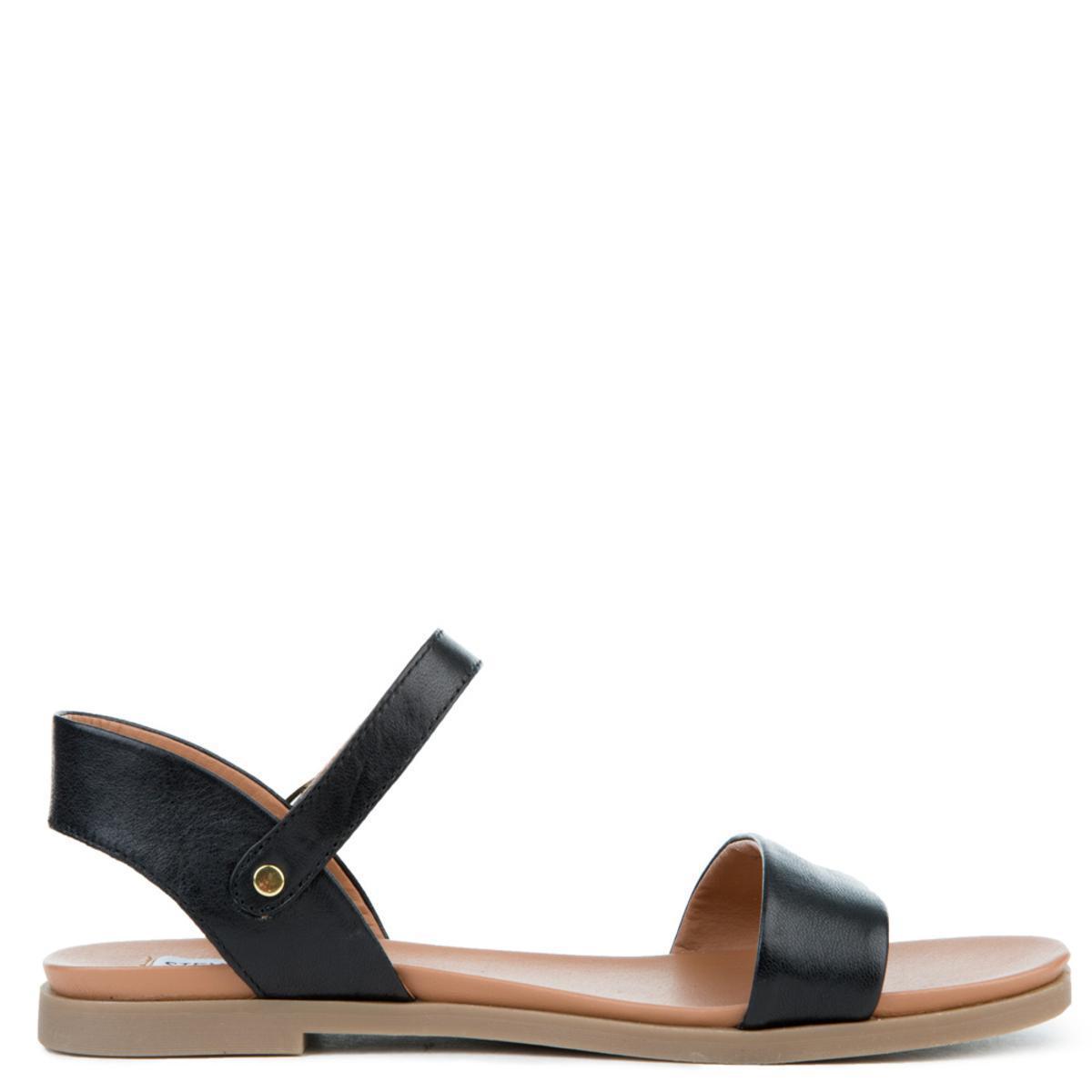 171dd165af2 Women's Dina Black Leather Sandals