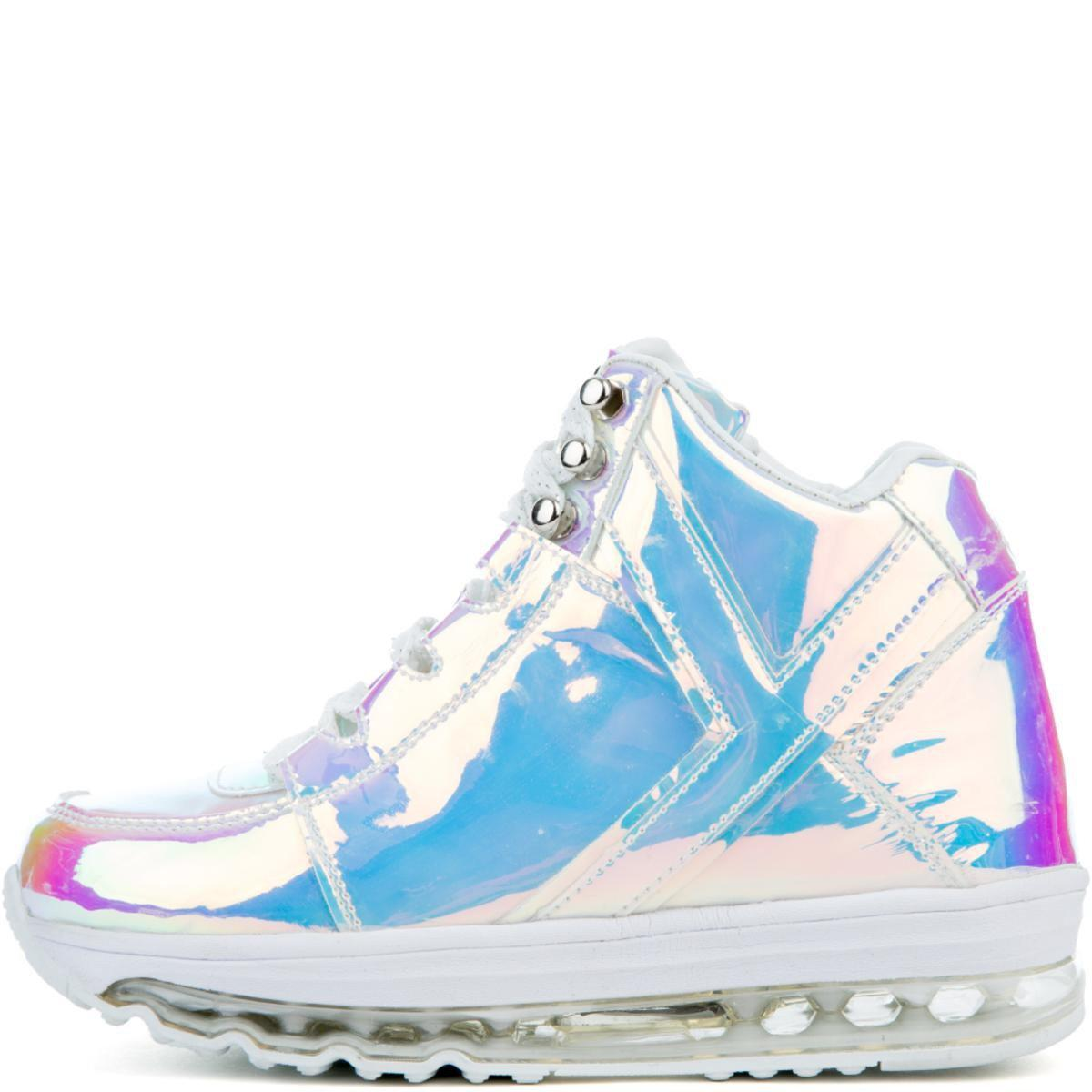 4d4cb5992a4 Lyst - YRU Qozmo Aiire Atlantis Sneaker In White in Blue