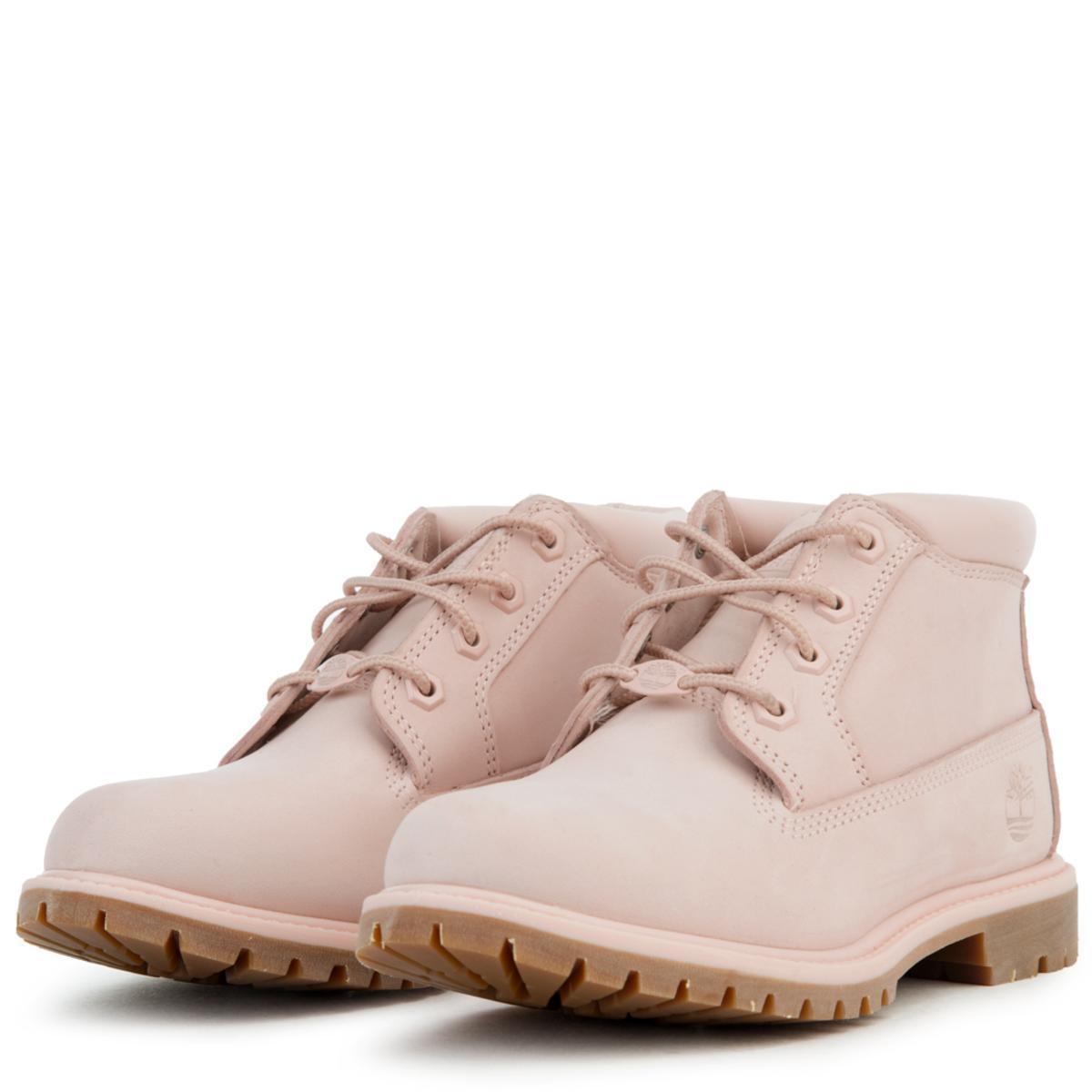 promoción variedades anchas como escoger Timberland Denim Nellie Chukka Waterproof Boot in Light Pink (Pink ...