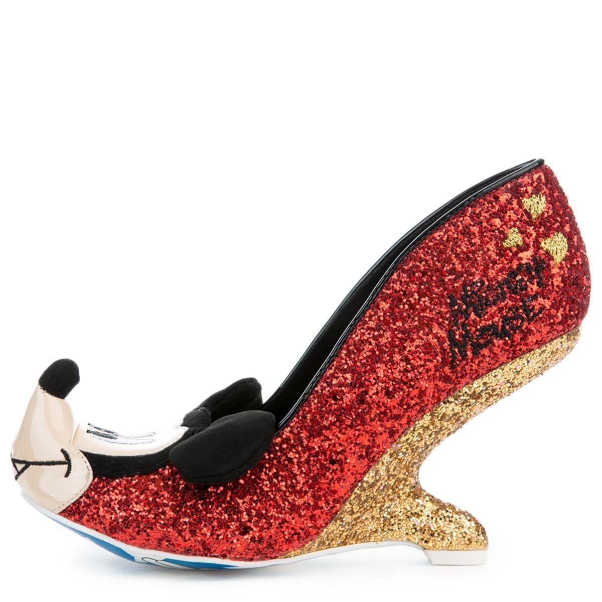 Irregular Choice Oh Boy! Red Heels - Lyst