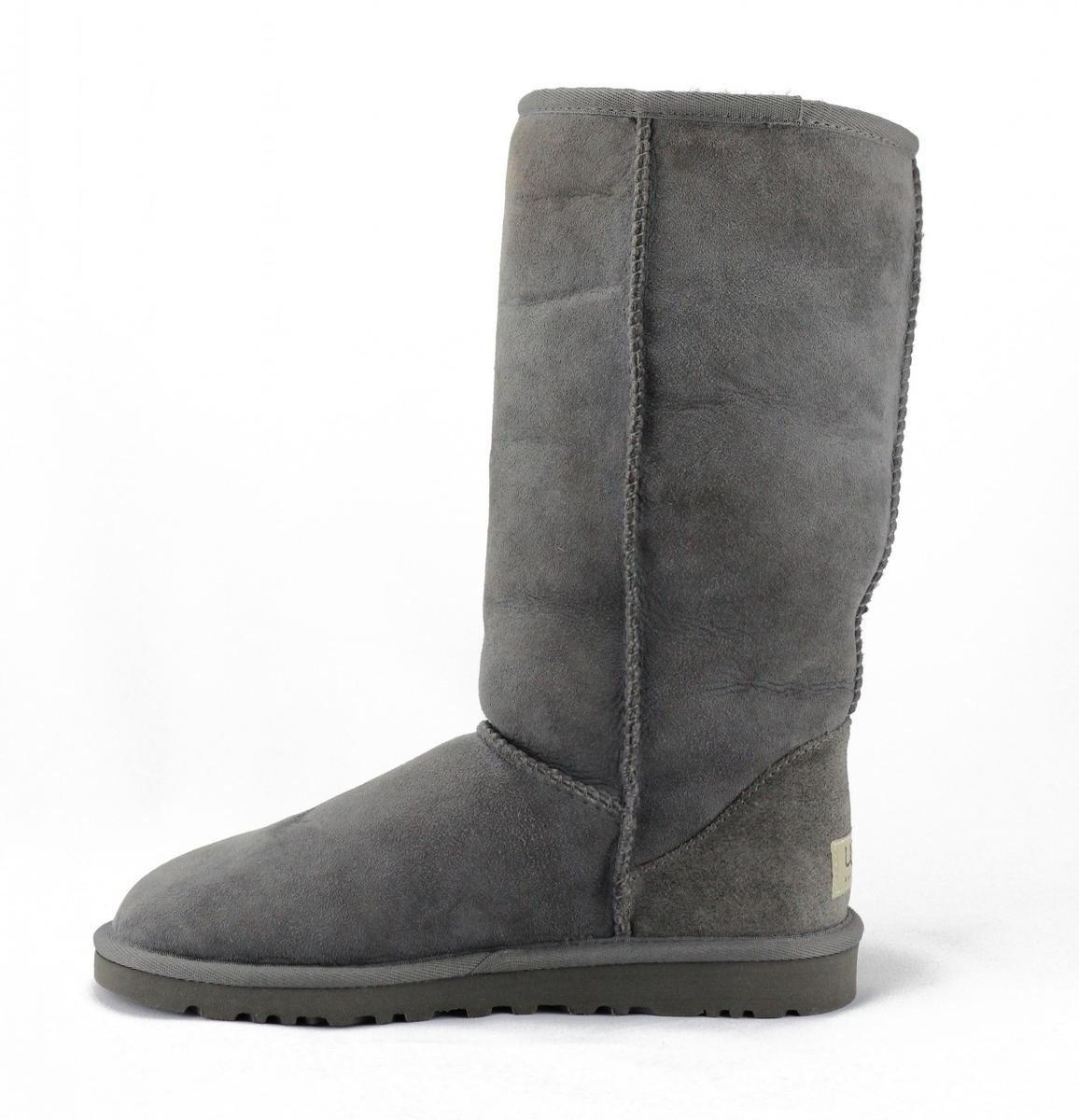 UGG Classic Tall Grey Boots in Gray - Lyst
