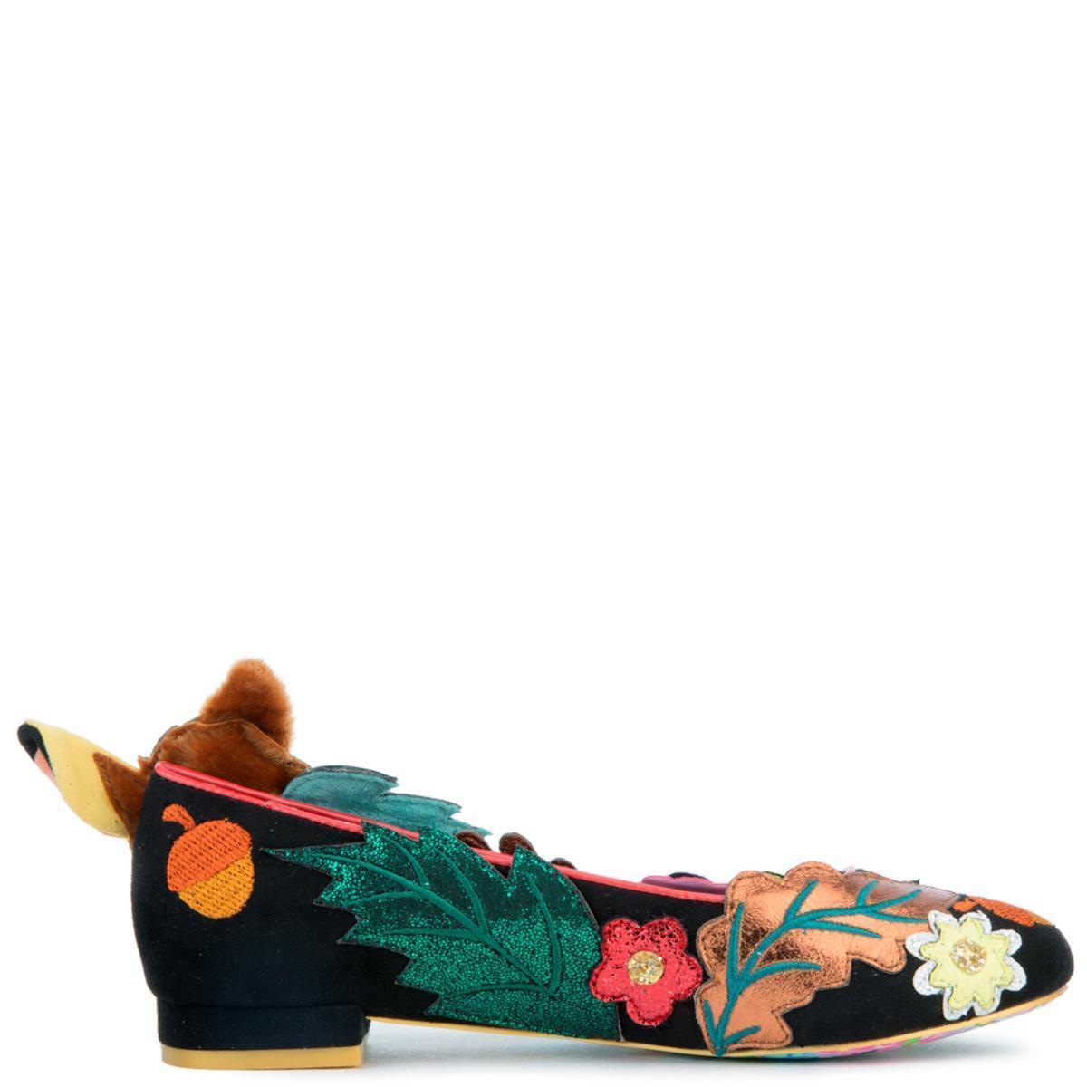 Low Heel Shoes Pink Slip On Flat F Irregular Choice Bow Bow