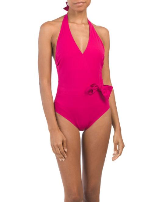 fd03efbfeb482 Lyst - Tj Maxx Au Natural One-piece Swimsuit in Pink
