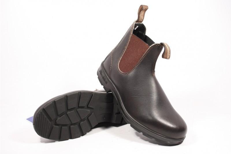 Blundstone 500 Boots Plat in het Bruin voor heren