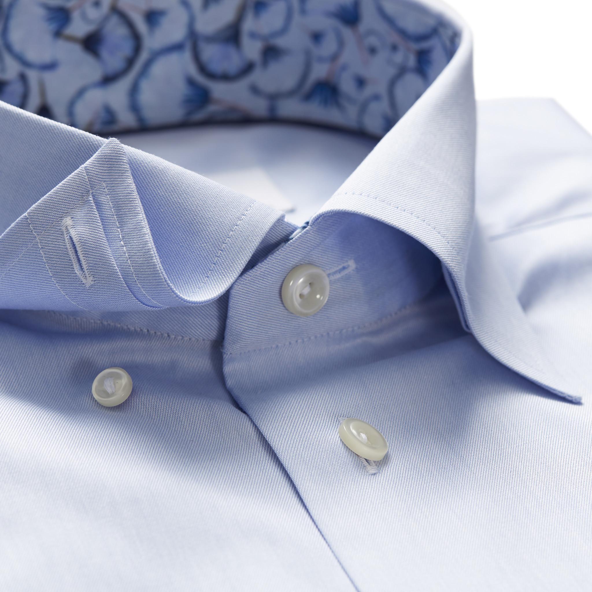 Eton of Sweden 1000 00058 21 Overhemd in het Blauw voor heren