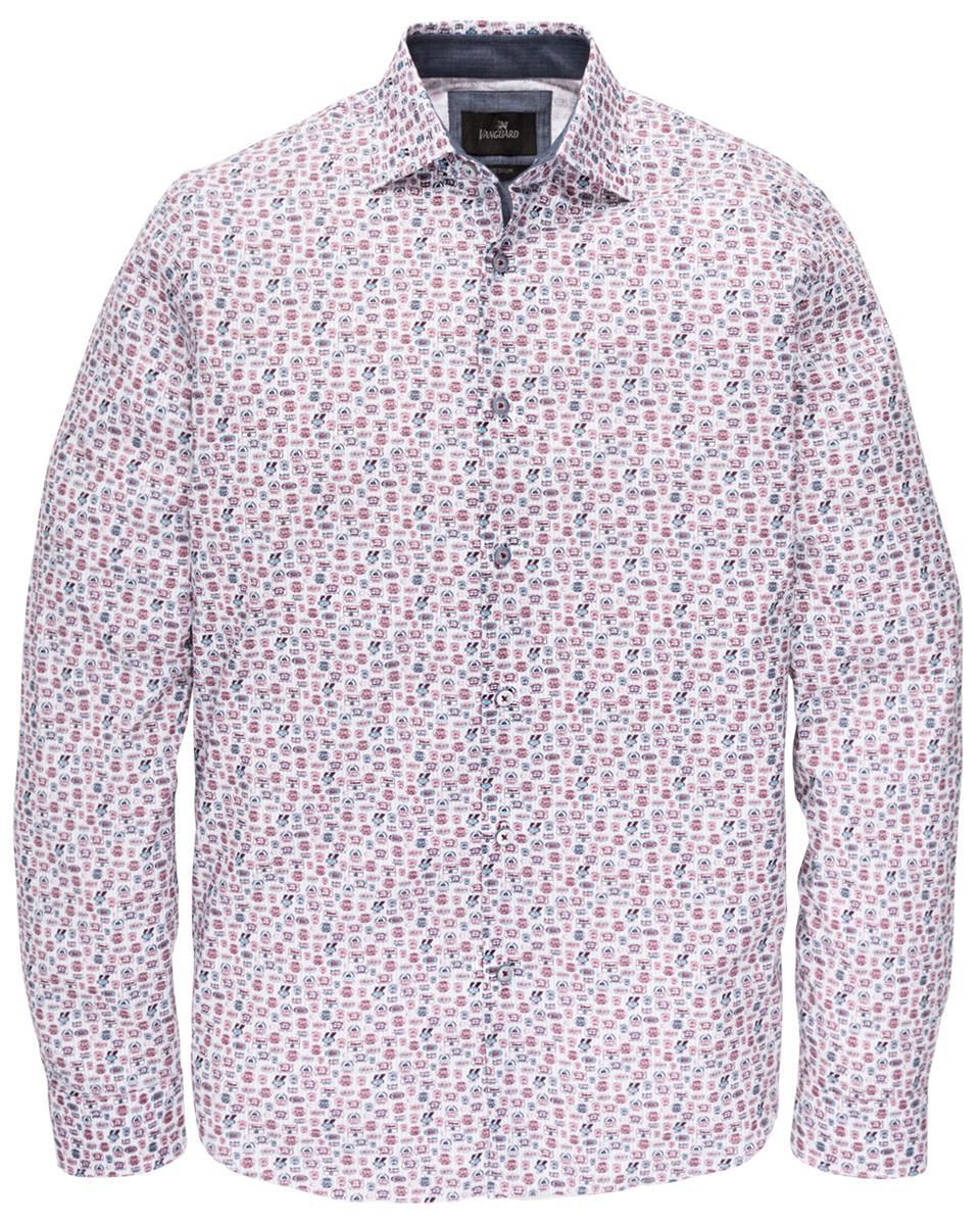 Vanguard Overhemd Vsi195400 in het Wit voor heren