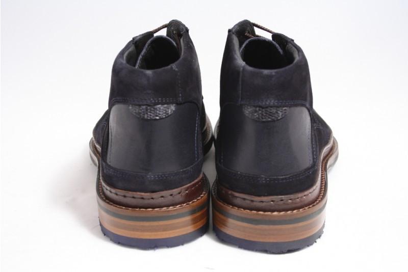 Floris Van Bommel 10509/02 Boots Sportief in het Blauw voor heren