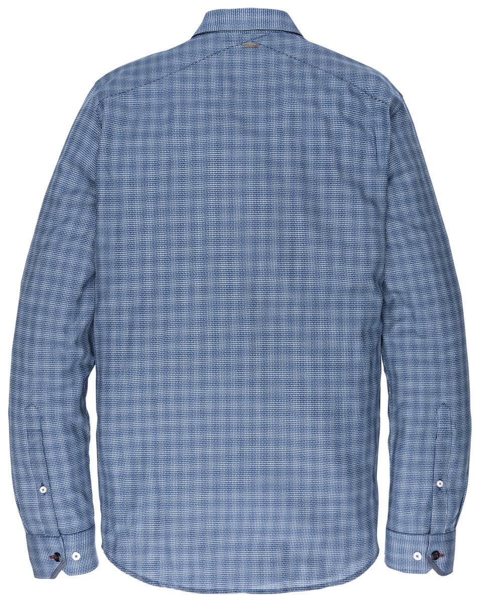 Vanguard Overhemd L.m. Blauw in het Blauw voor heren