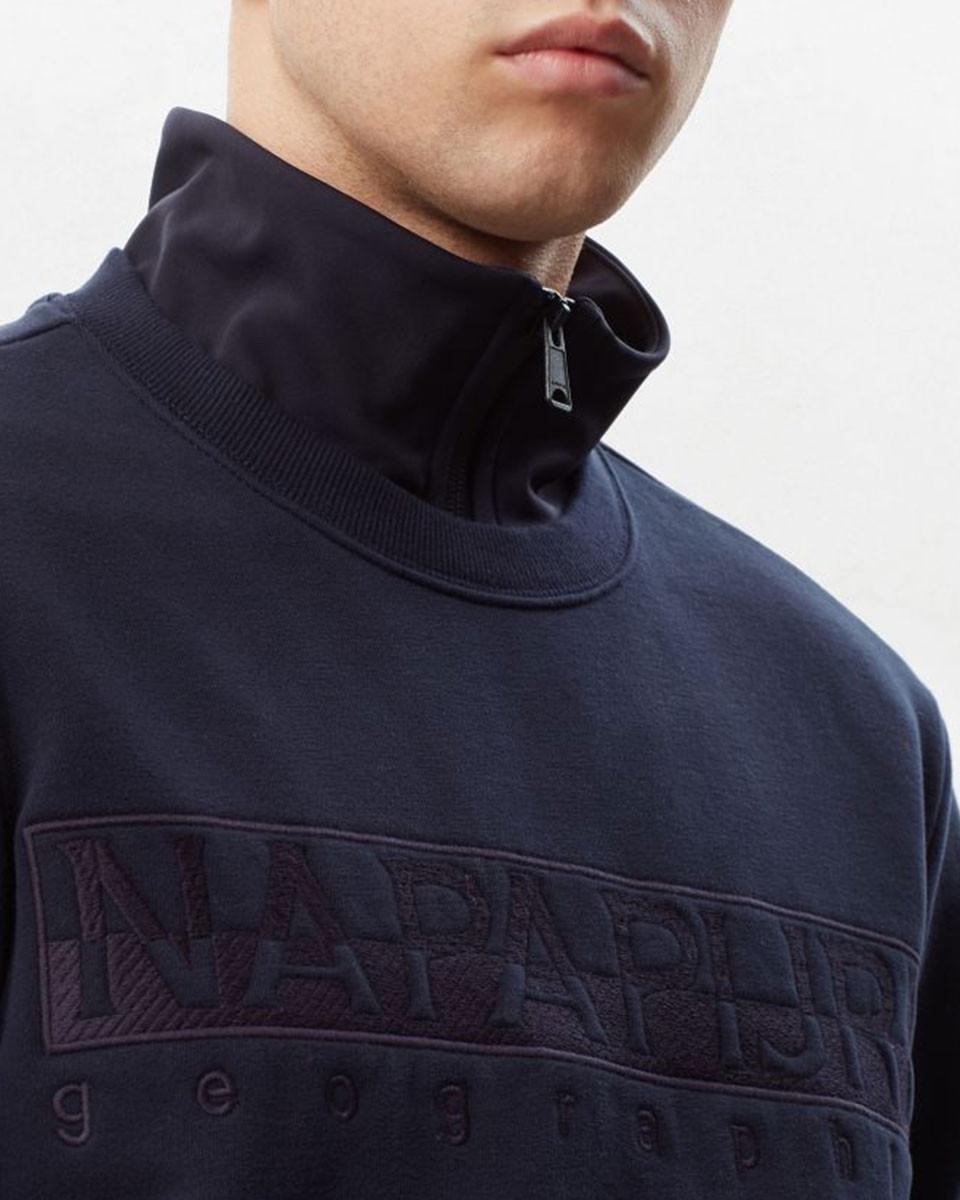 Napapijri Pullover N0yiwr176 Berber C in het Blauw voor heren