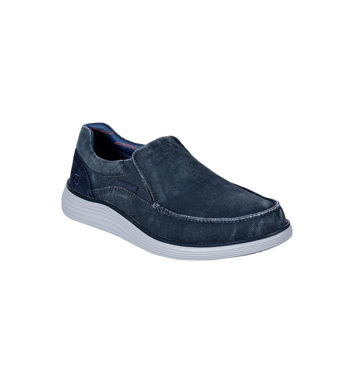 Skechers 66014/blu Mosent in het Blauw voor heren