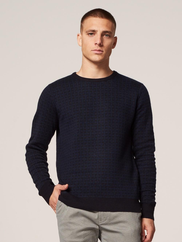 Dstrezzed 404228 669 Pullover in het Blauw voor heren