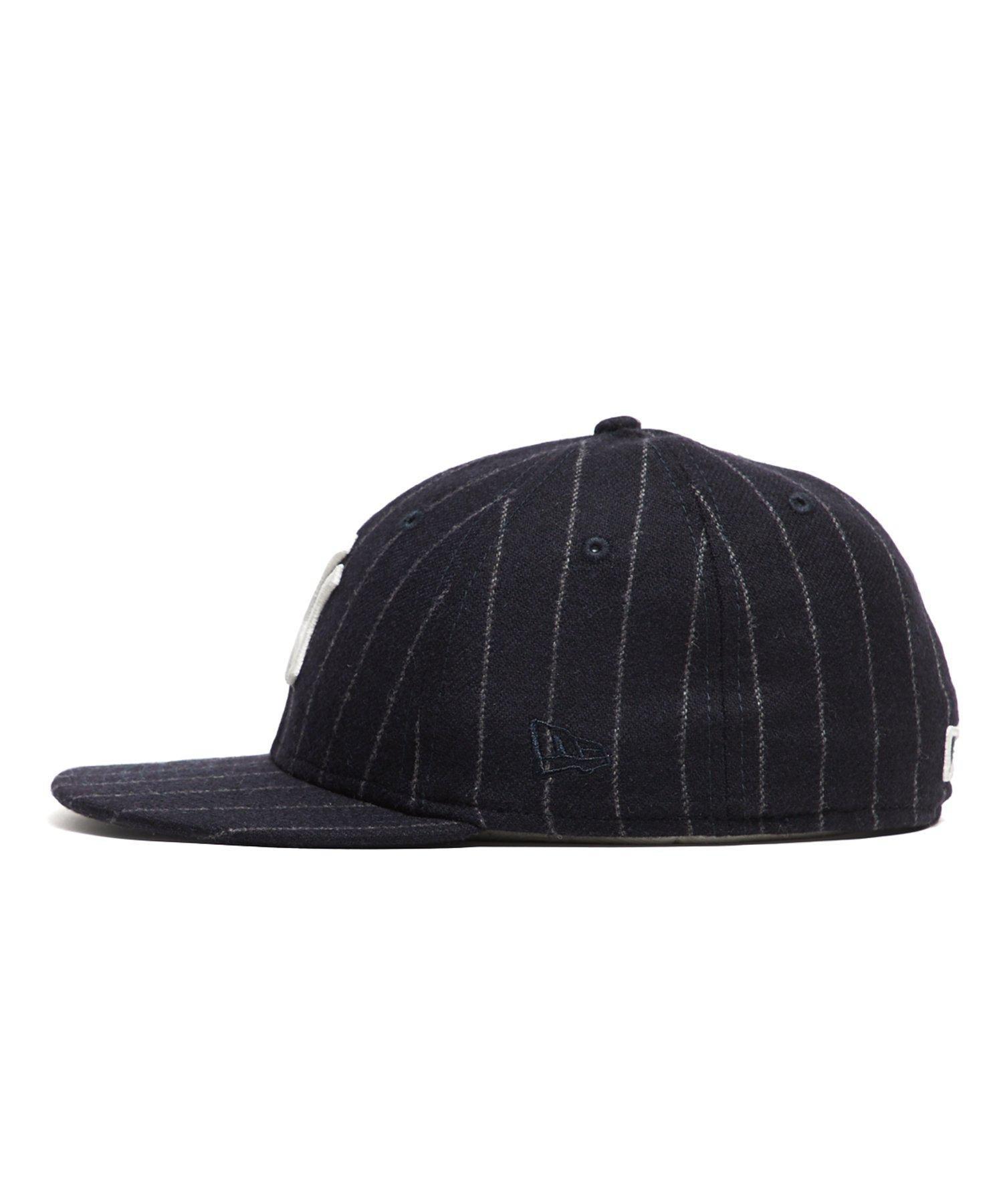 f6372726c4c NEW ERA HATS Exclusive New Era New York Yankees Cap In Abraham Moon Navy  Wool Chalkstripe in Blue for Men - Lyst