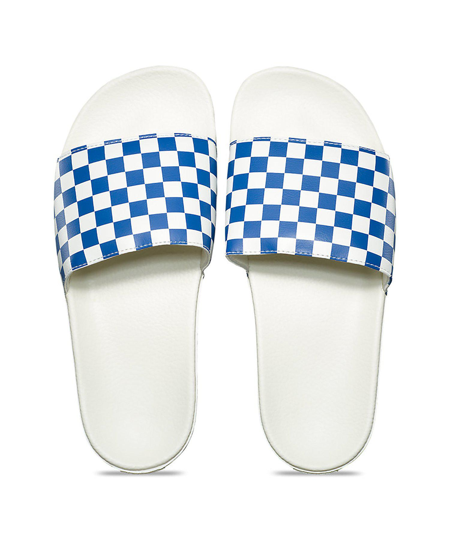 Vans Synthetic Checkerboard Slide-on