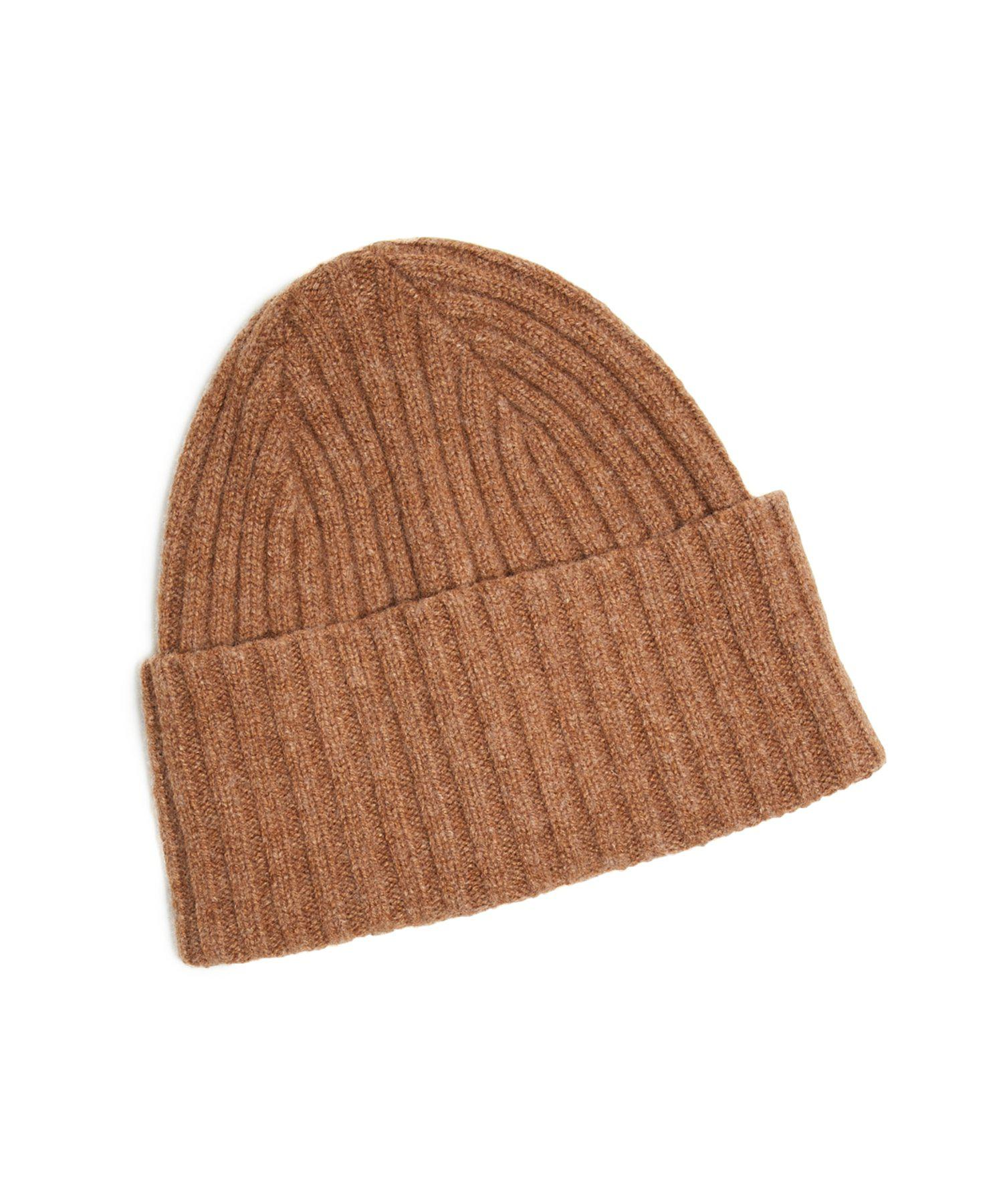 bac9c9699f9 Lyst - Drake s Brushed Merino Wool Hat In Tan in Brown for Men