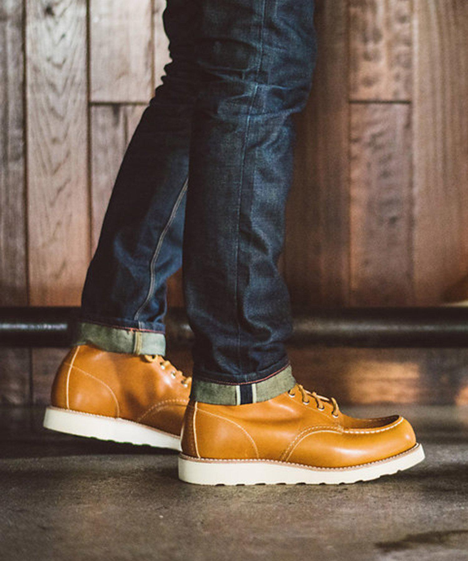 118058cfbdfa Lyst - Red Wing Limited Edition Red Wing 6 Inch Classic Moc Toe Boot ...