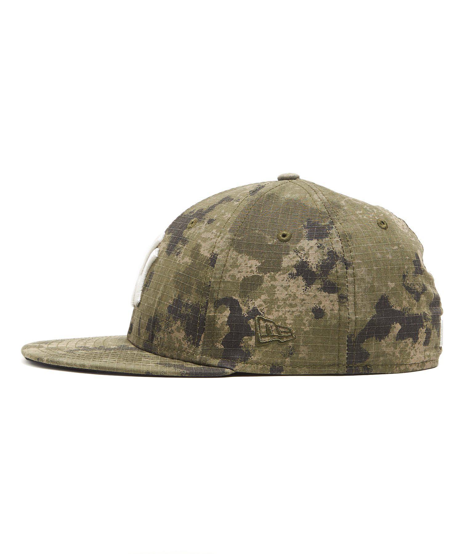 3e04006f148 Lyst - NEW ERA HATS New York Yankees Cap In Camo Ripstop in Green ...