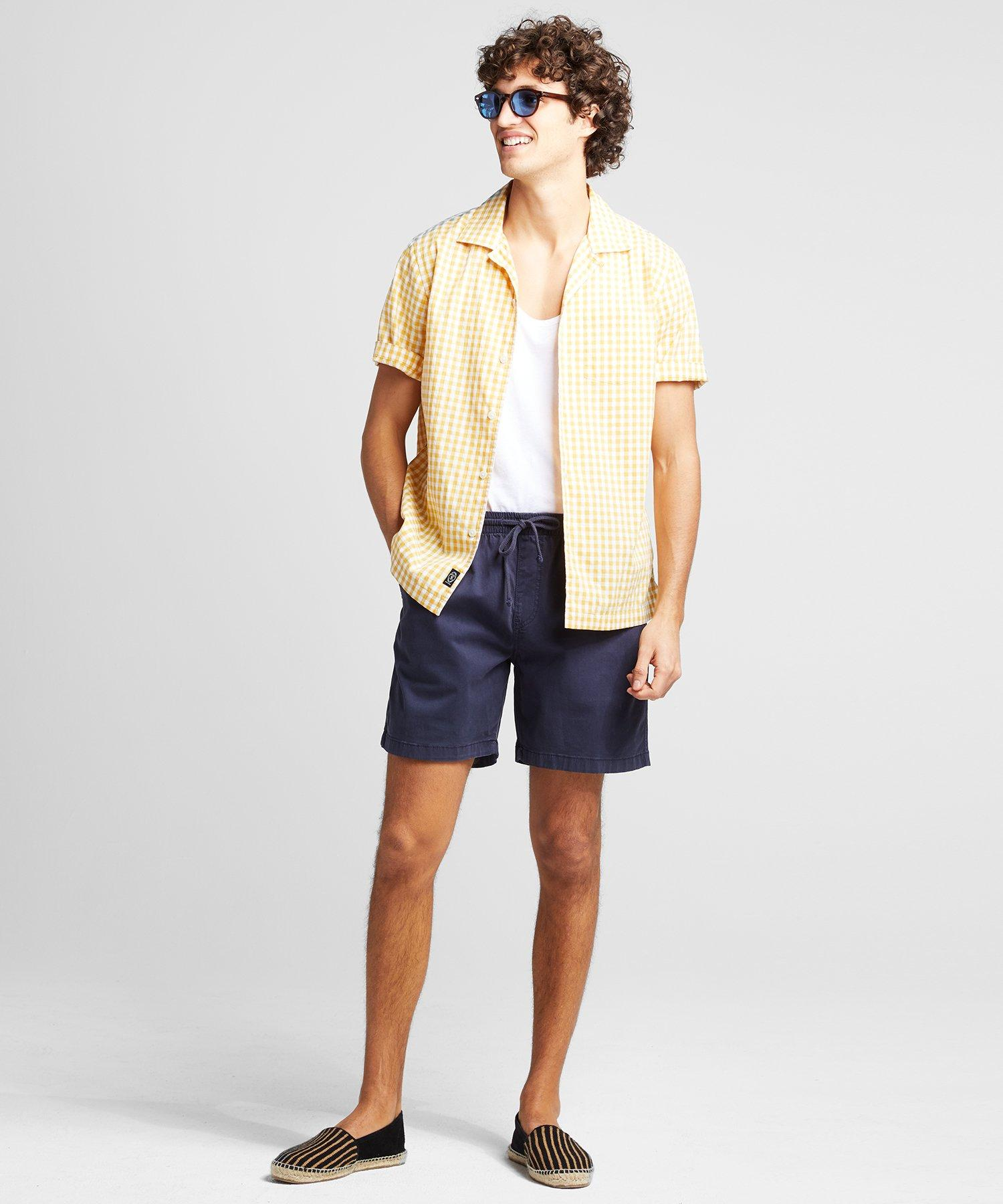 """Todd Synder X Champion Cotton 7"""" Weekend Stretch Short in ..."""