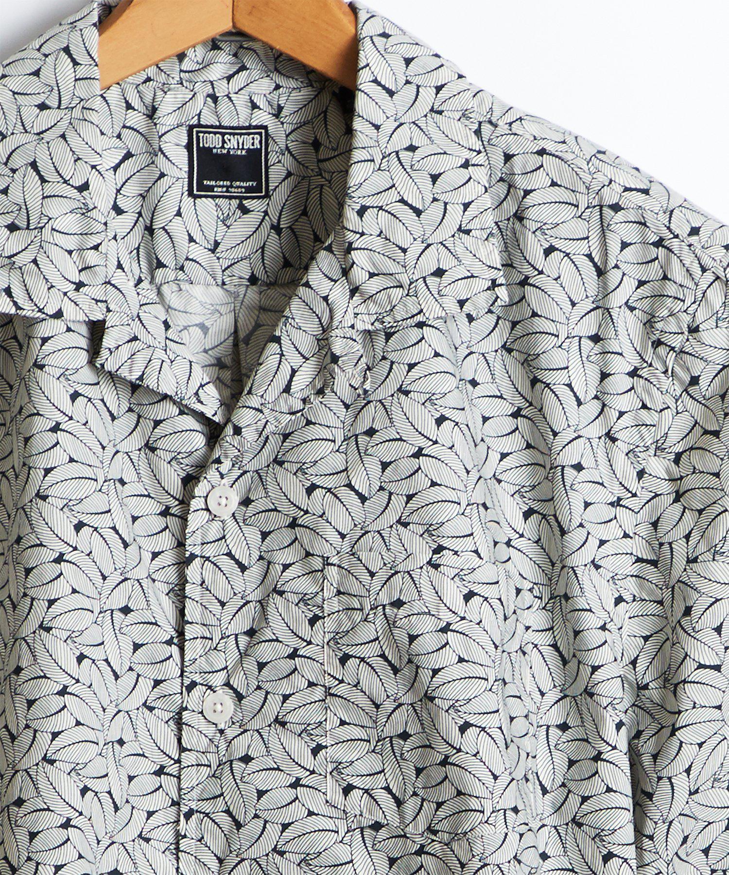Mens Short Sleeves Oxford Polka Dot Shirts