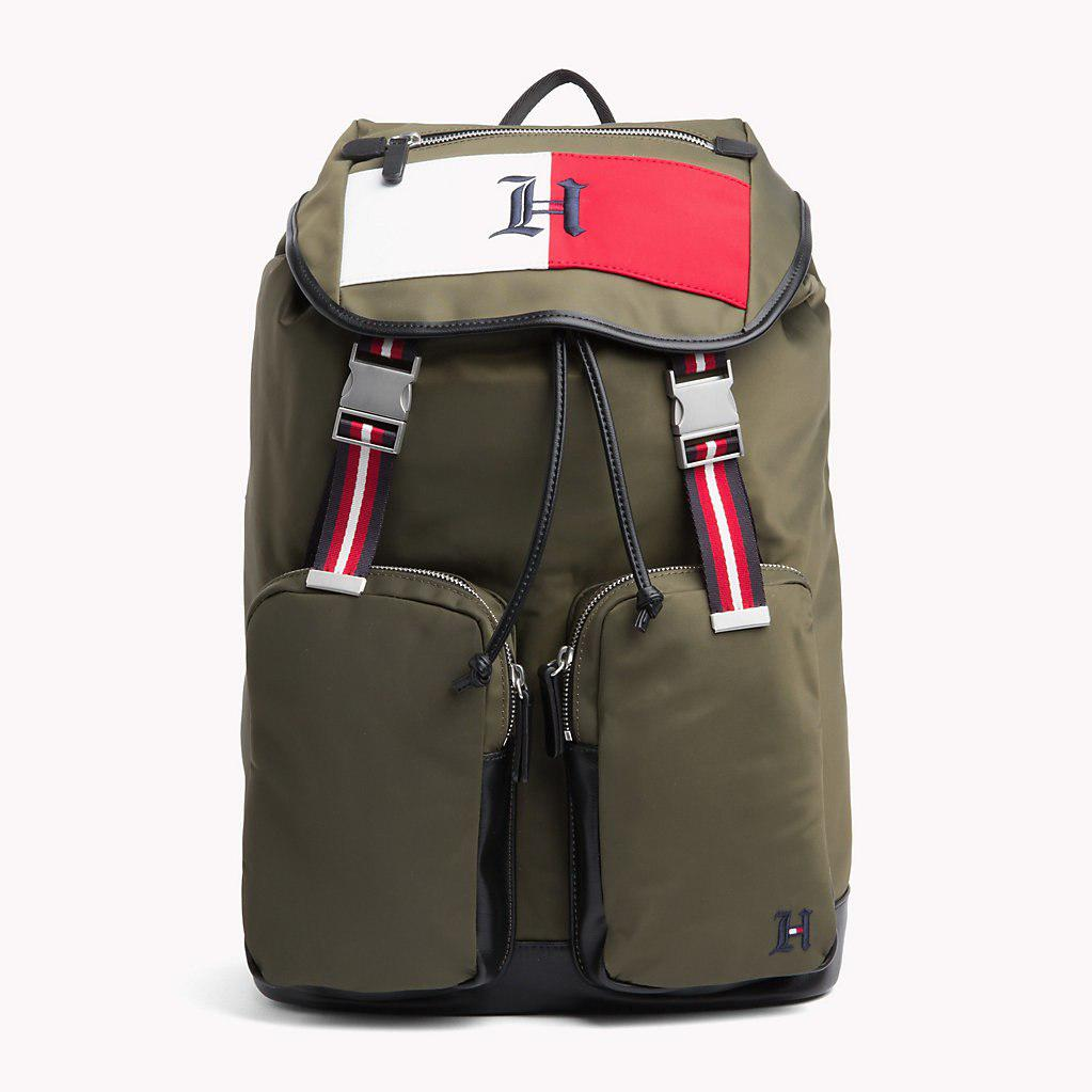5c465c8ba0 Tommy Hilfiger Lewis Hamilton Backpack in Green for Men - Lyst