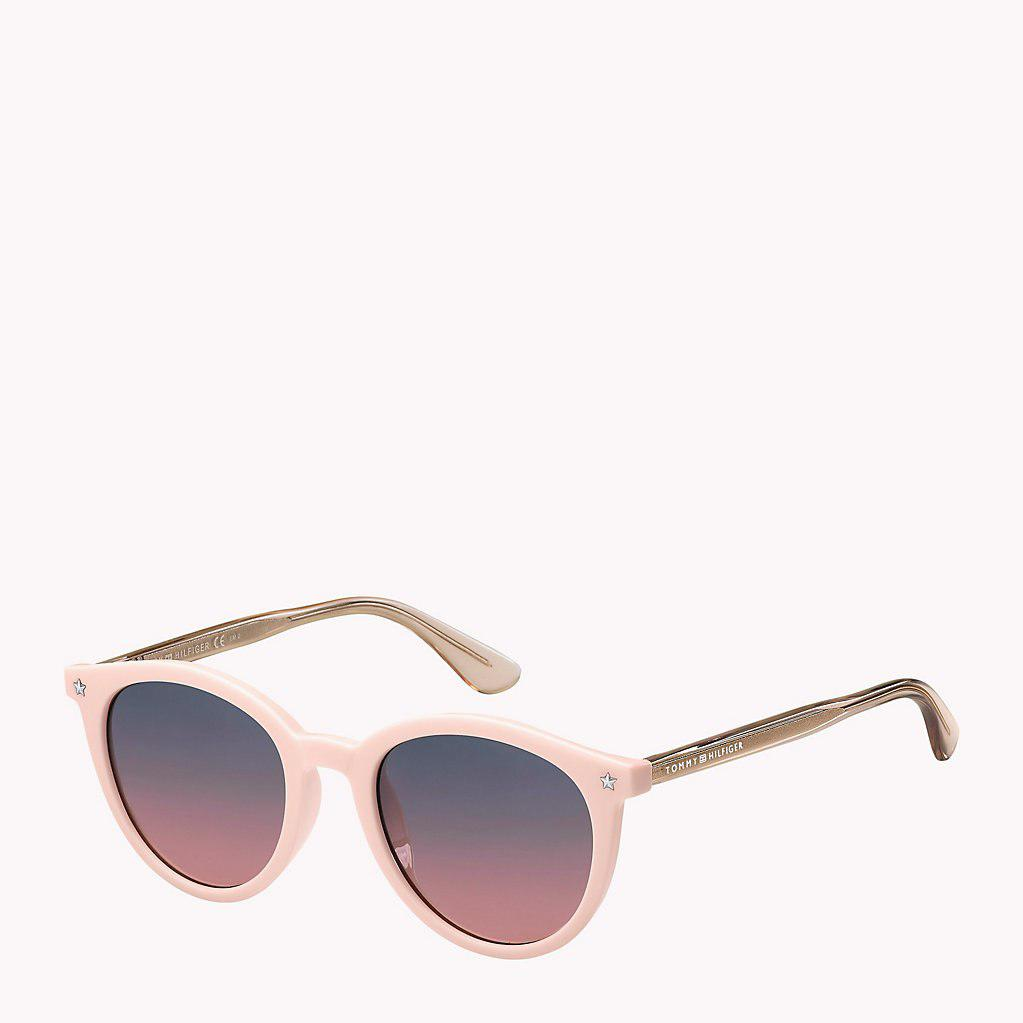 5b5c936d4e17 Tommy Hilfiger Star Teacup Sunglasses in Pink - Lyst