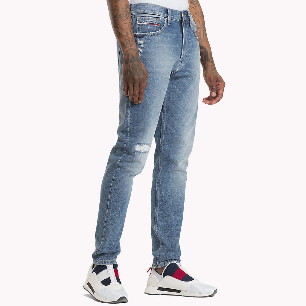 0abd14397 Tommy Hilfiger Tj 1988 Tapered Fit Jeans in Blue for Men - Lyst