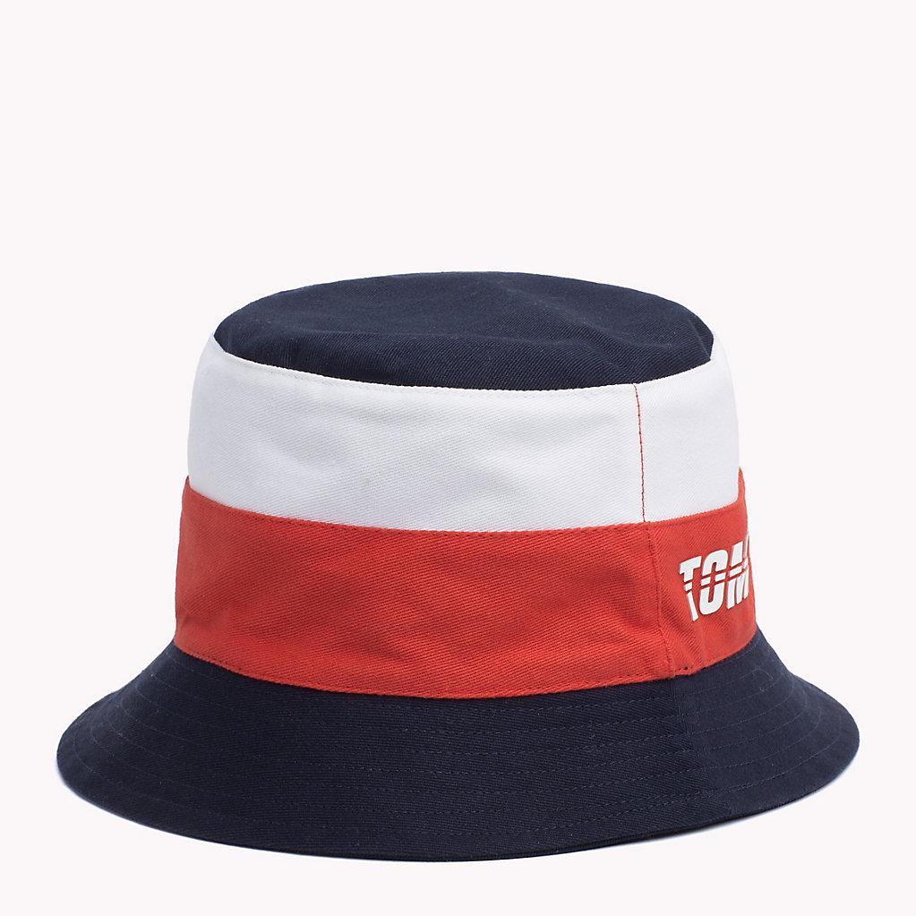 1d25114dc5c64 Tommy Hilfiger Kids  Reversible Bucket Hat in Blue for Men - Lyst