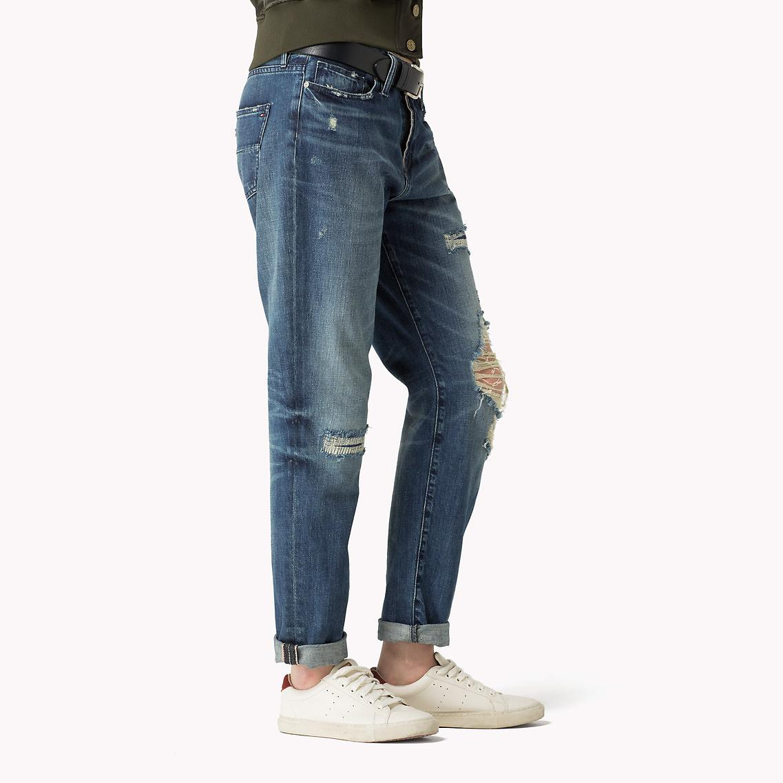 543f53ac87ed Tommy Hilfiger Girlfriend Fit Jeans in Blue for Men - Lyst