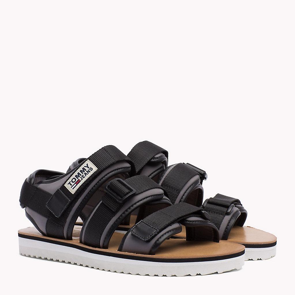 894a34b8986d90 Tommy Hilfiger Urban Sandals in Black for Men - Lyst