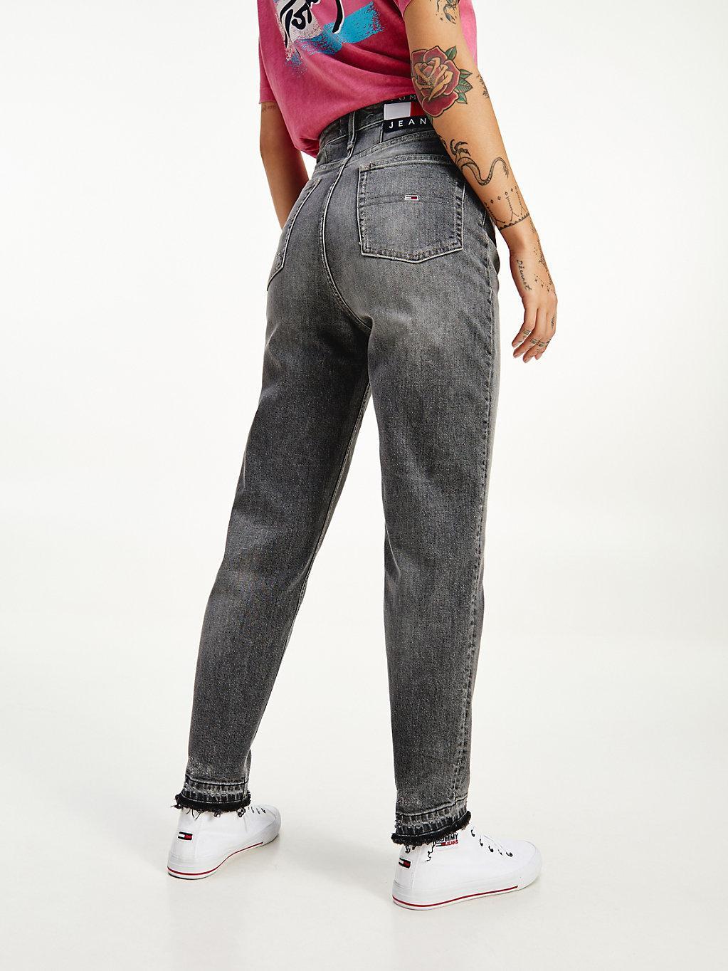 Tommy Hilfiger Denim Mom Tapered Jeans mit ultrahohem Bund ...