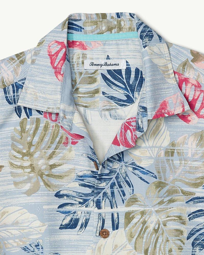 78ea978d Lyst - Tommy Bahama Big & Tall Botanica Sketch Islandzone® Camp Shirt in  Blue for Men