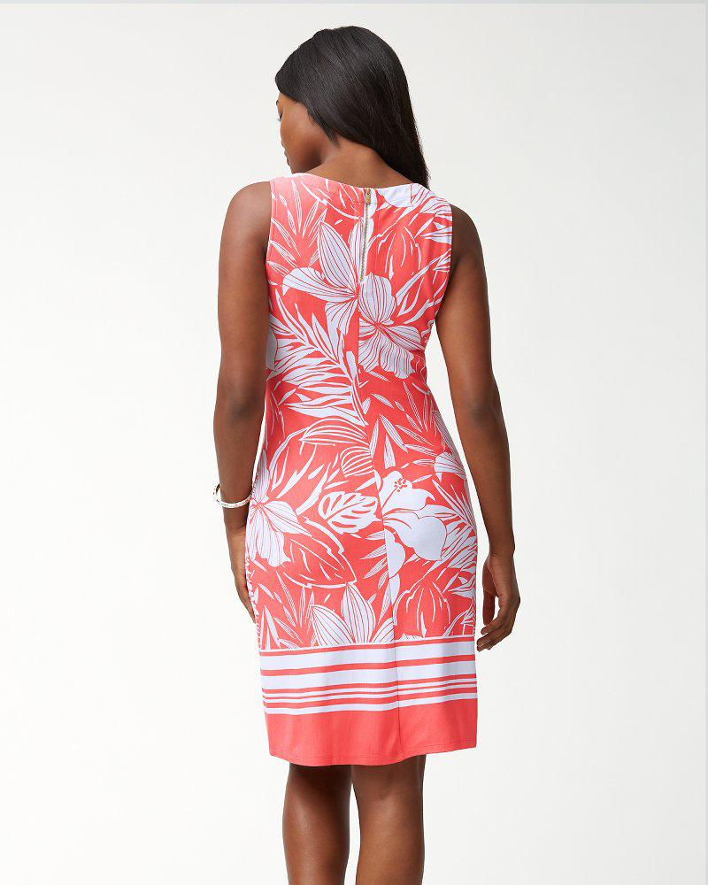 4d4bf5b2129 Lyst - Tommy Bahama Mahana Beach Sheath Dress in Pink