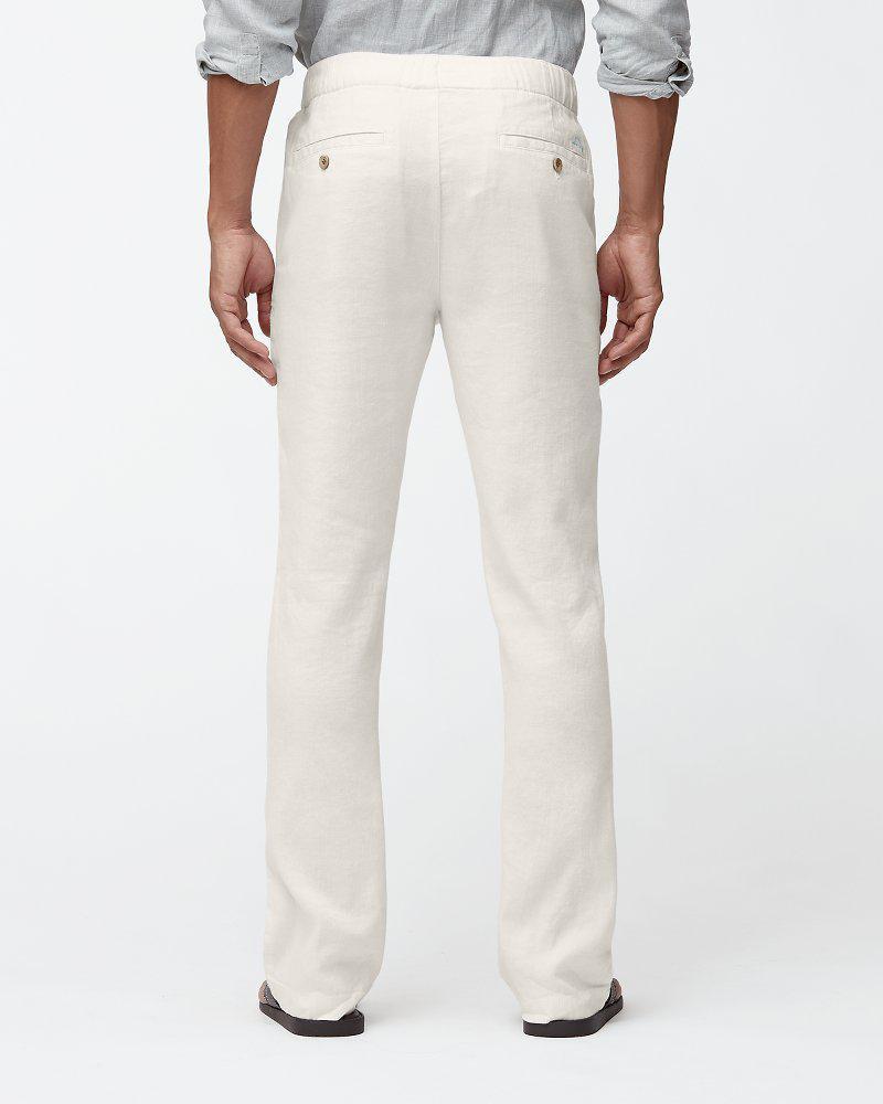 9994888caf Tommy Bahama Beach Linen Elastic-waist Pants for Men - Save 12% - Lyst