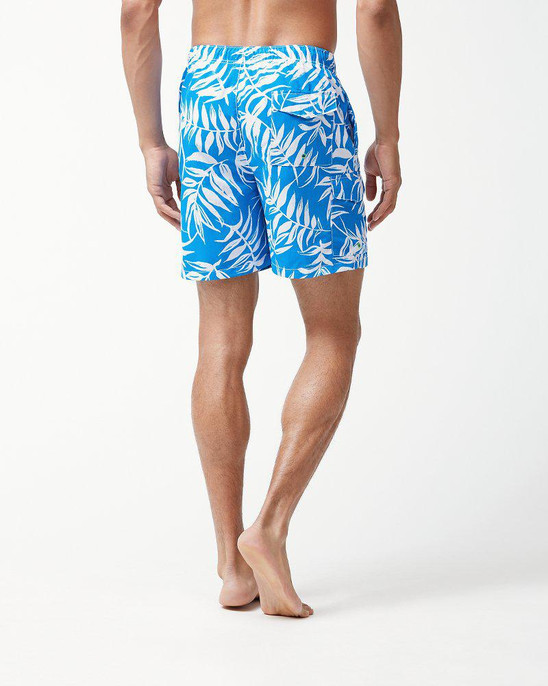 3cf5c2eb81a3e Lyst - Tommy Bahama Naples Muy Caliente 6-inch Swim Trunks in Blue for Men