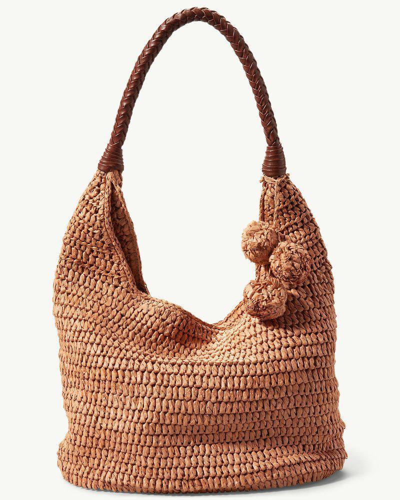 Tommy Bahama Mama Straw Hobo Bag In